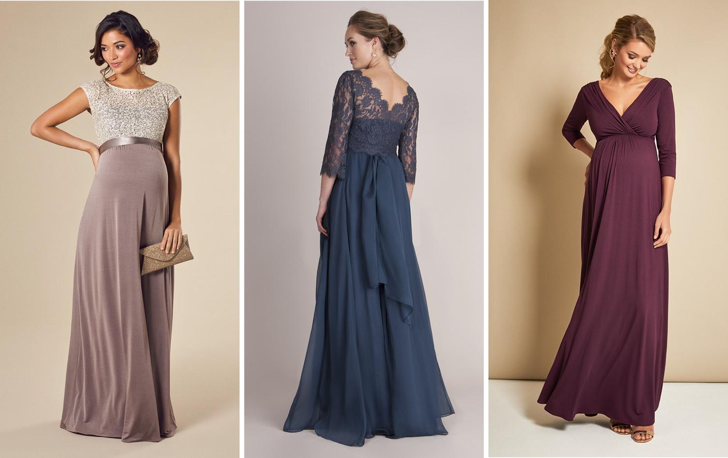 Festliche Kleider Für Schwangere Lang | Auf Rechnung | Mamarella
