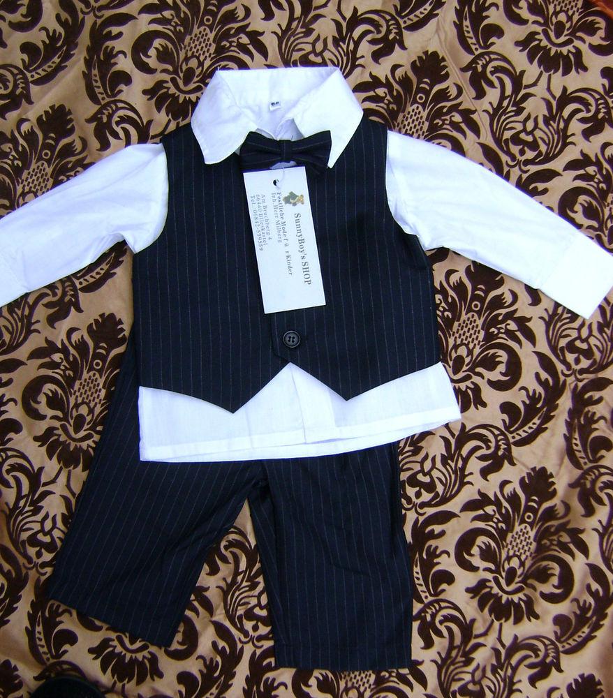 Festliche Kleidung Baby Junge Taufanzug Junge Baby Anzug Abendkleid