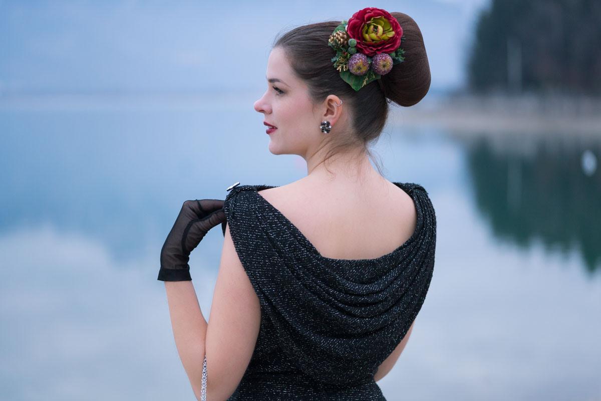 Festliche Vintage-Mode: Ein 50Er-Jahre-Kleid Und Glitzernde