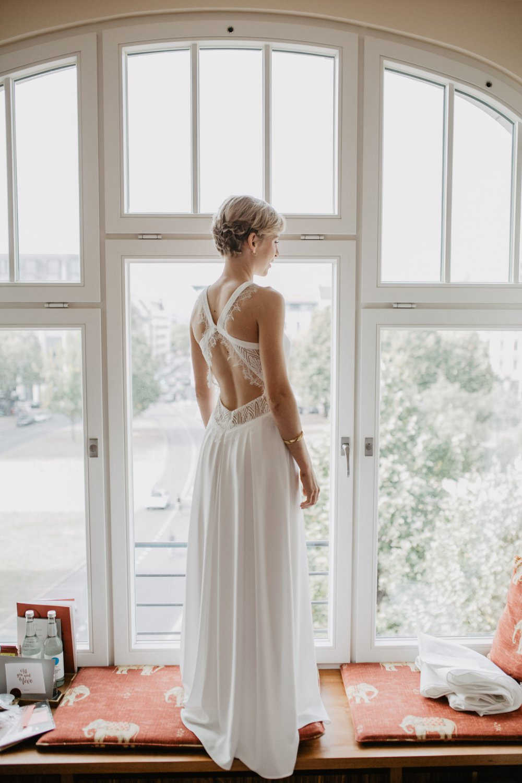 Fliessendes Boho Hochzeitskleid (Balou, Rembo Styling, 2018)
