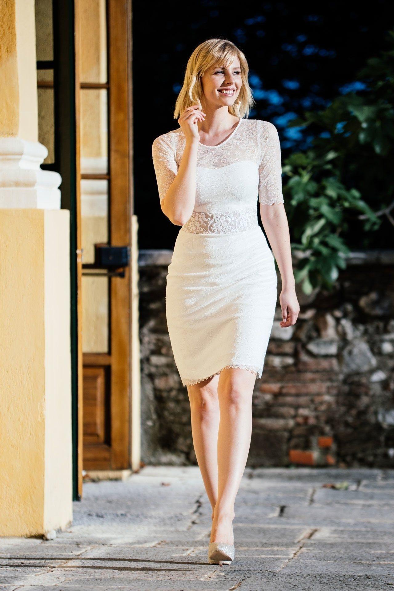 Formal Einfach Etuikleid Hochzeit Stylish - Abendkleid