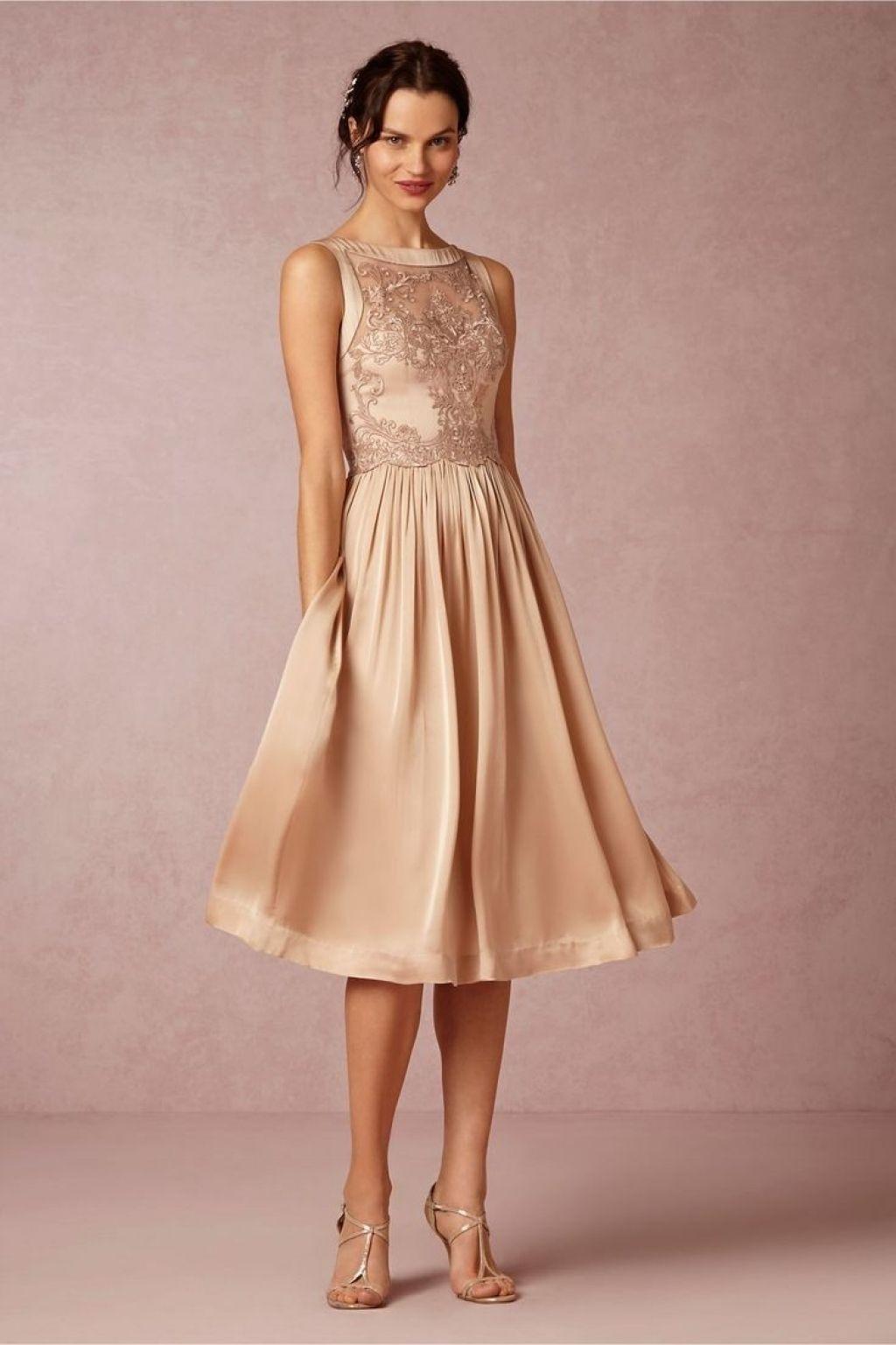 Formal Elegant Kleider Knielang Hochzeit Stylish - Abendkleid
