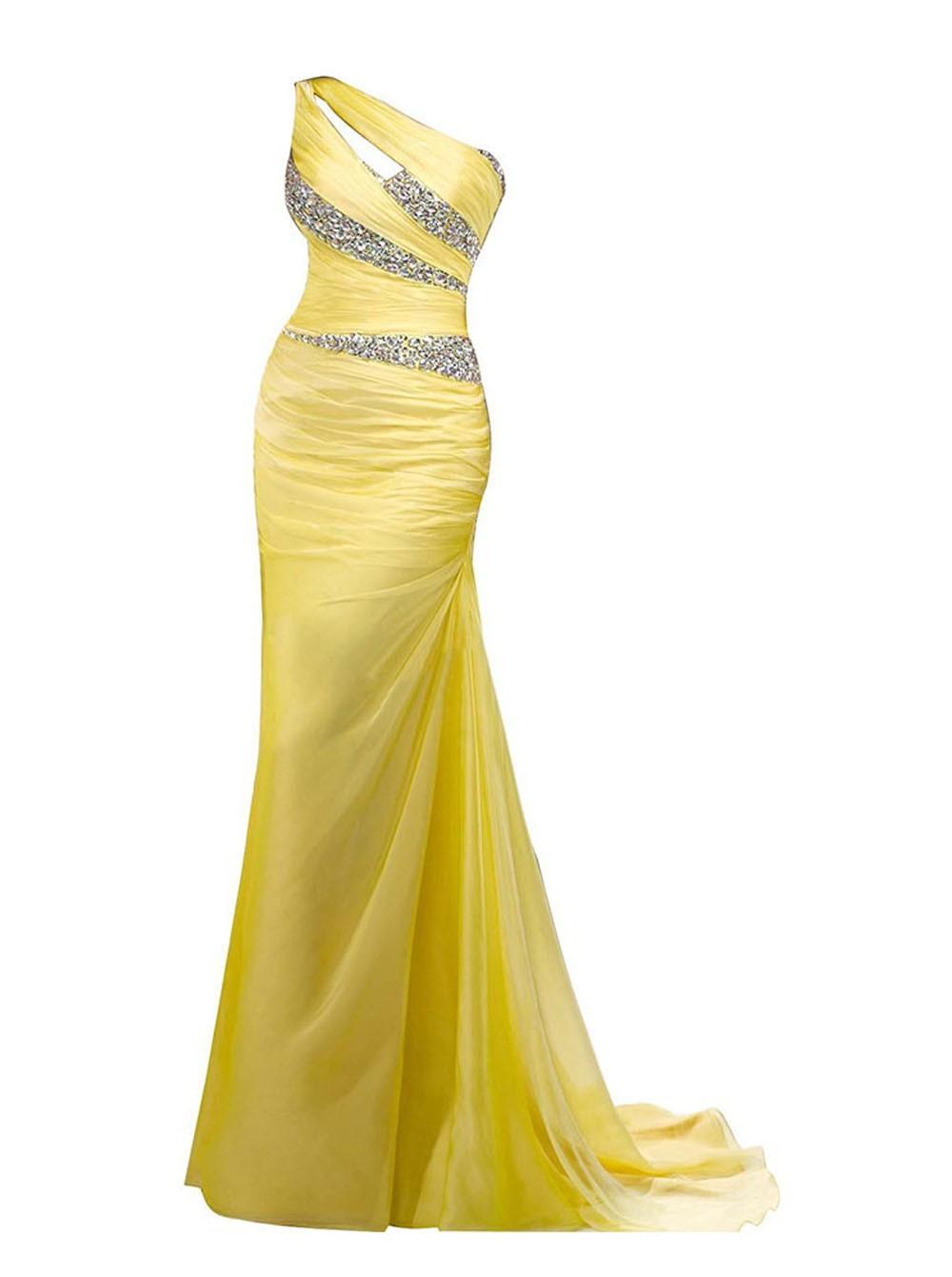 Designer Cool Abendkleid In Gelb ÄrmelFormal Fantastisch Abendkleid In Gelb Bester Preis