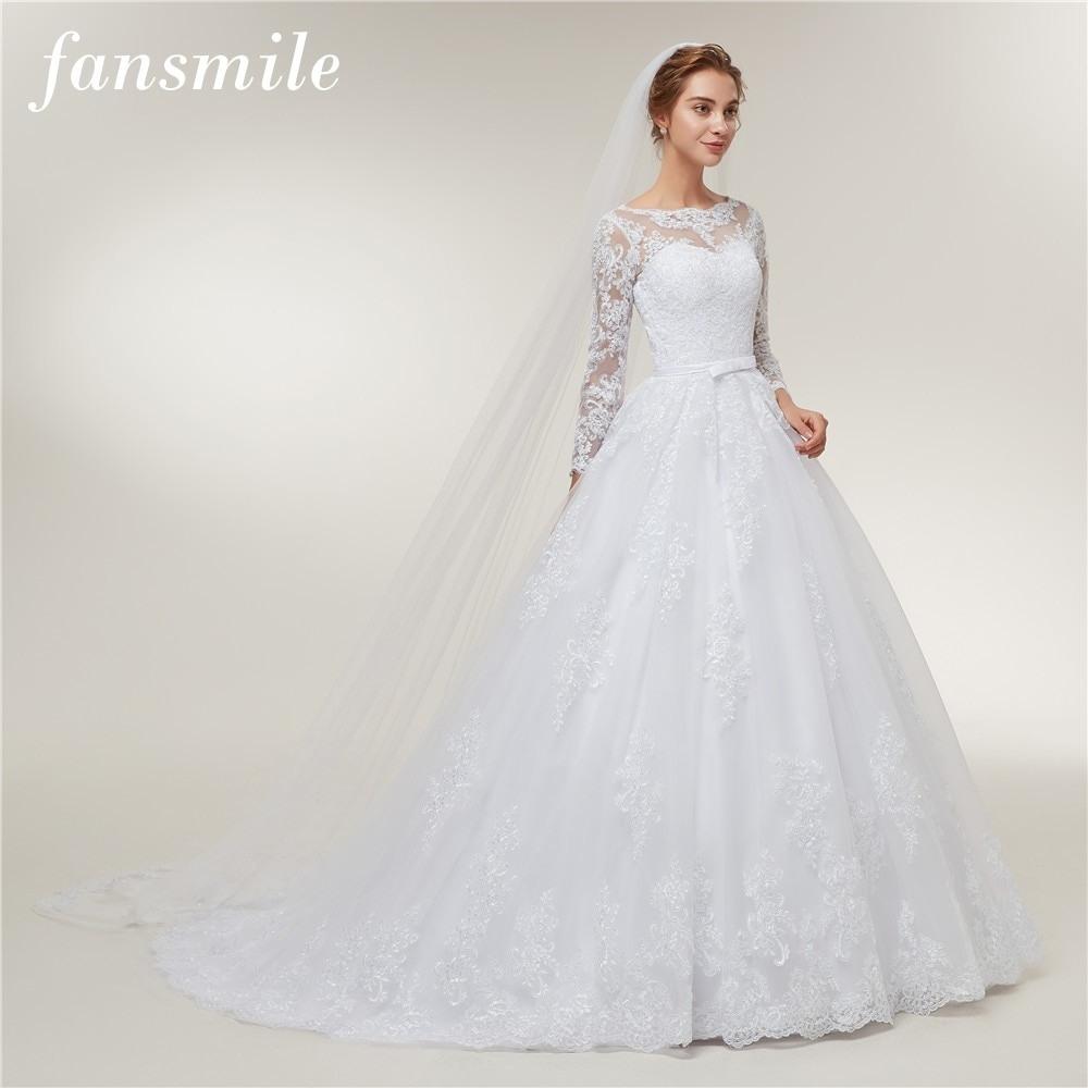 Formal Luxus Kleid Hochzeit Langarm Spezialgebiet ...