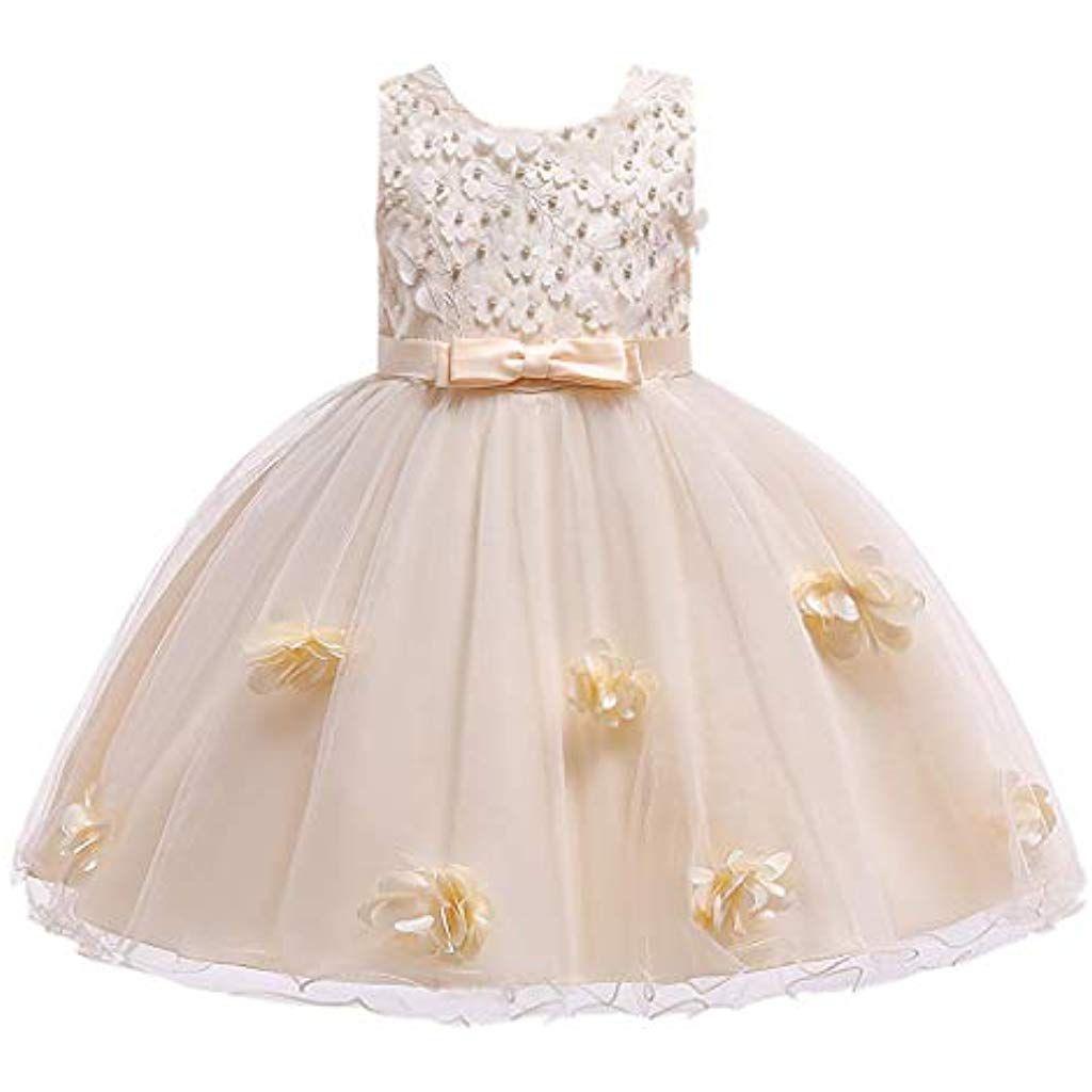 Frashing Kleinkind Kinder Baby Mädchen Prinzessin Kleid