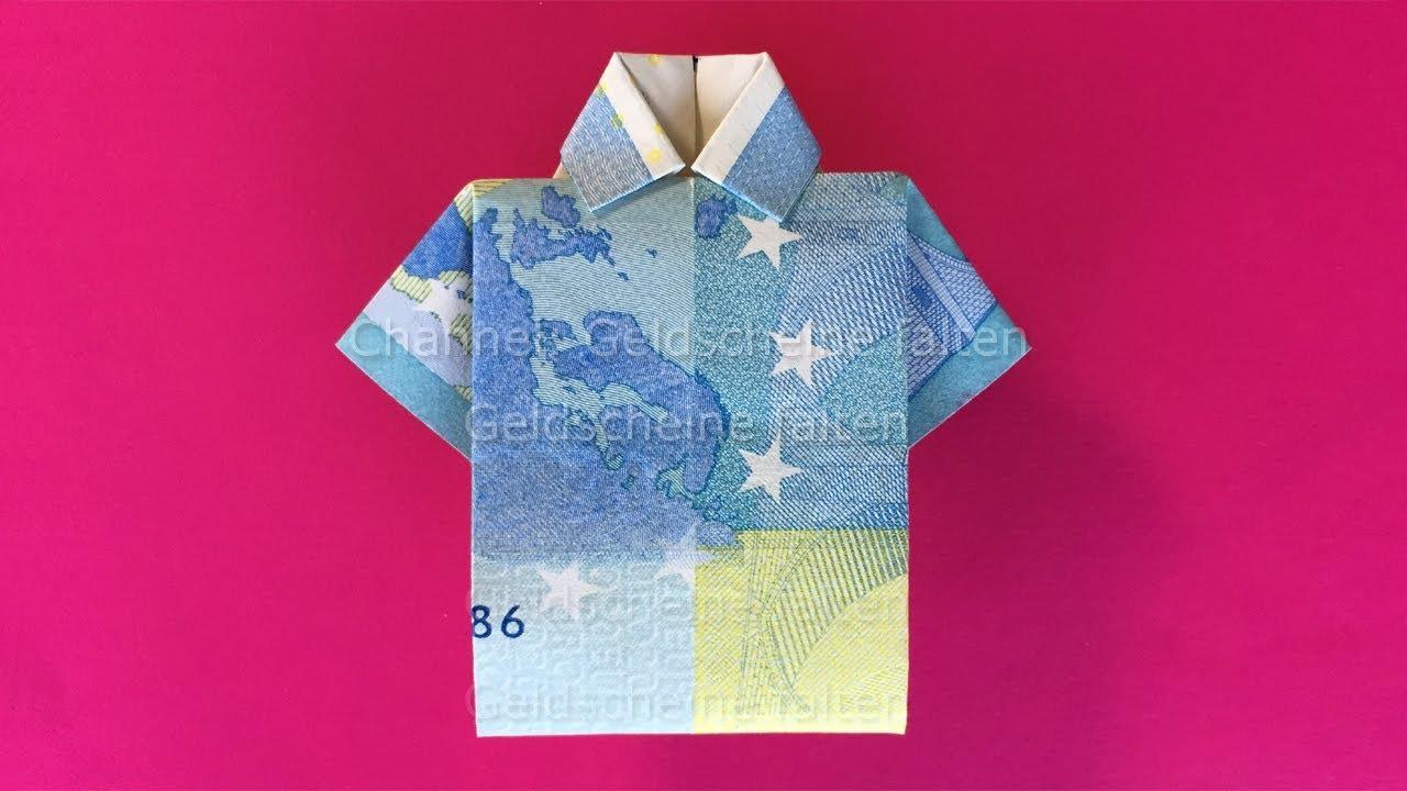 Geldscheine Falten: Hemd - Einfach Geld Falten Zur Hochzeit