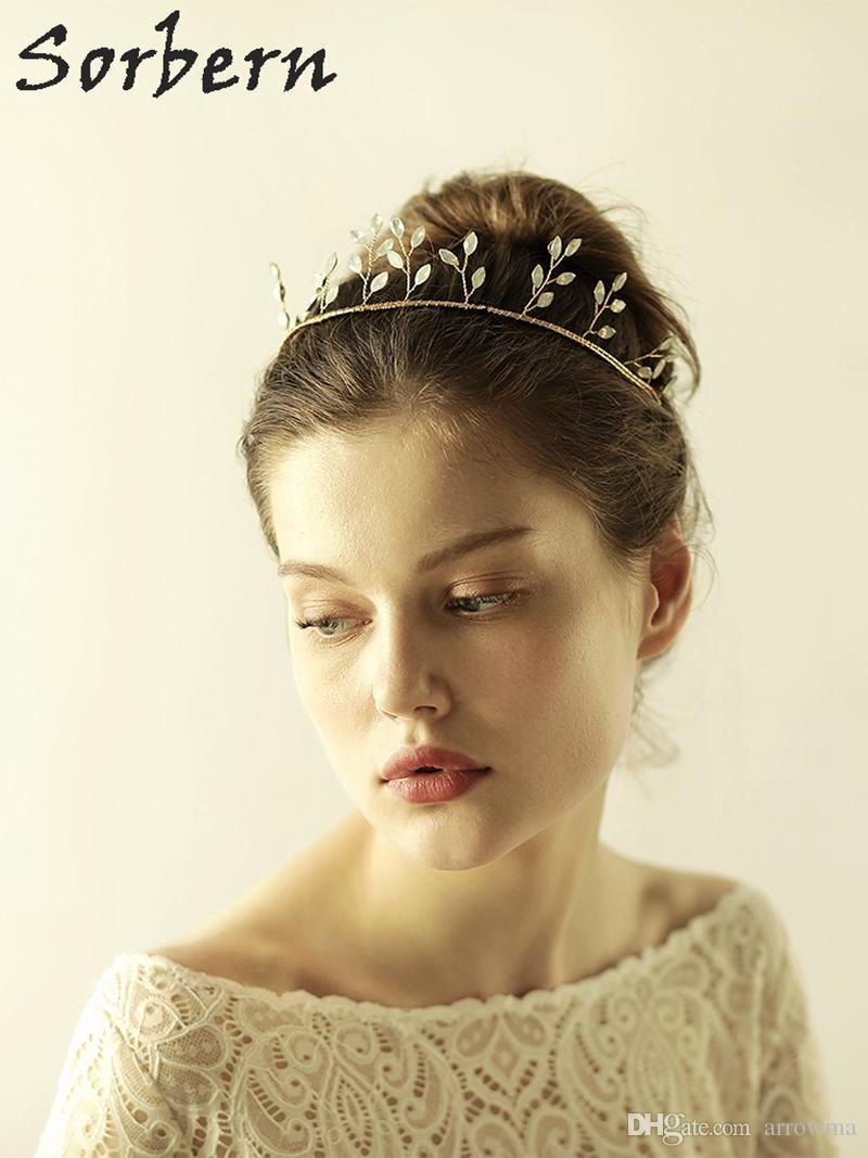 Goldene Hochzeit Kleidung Braut Luxus Großhandel Gold Braut