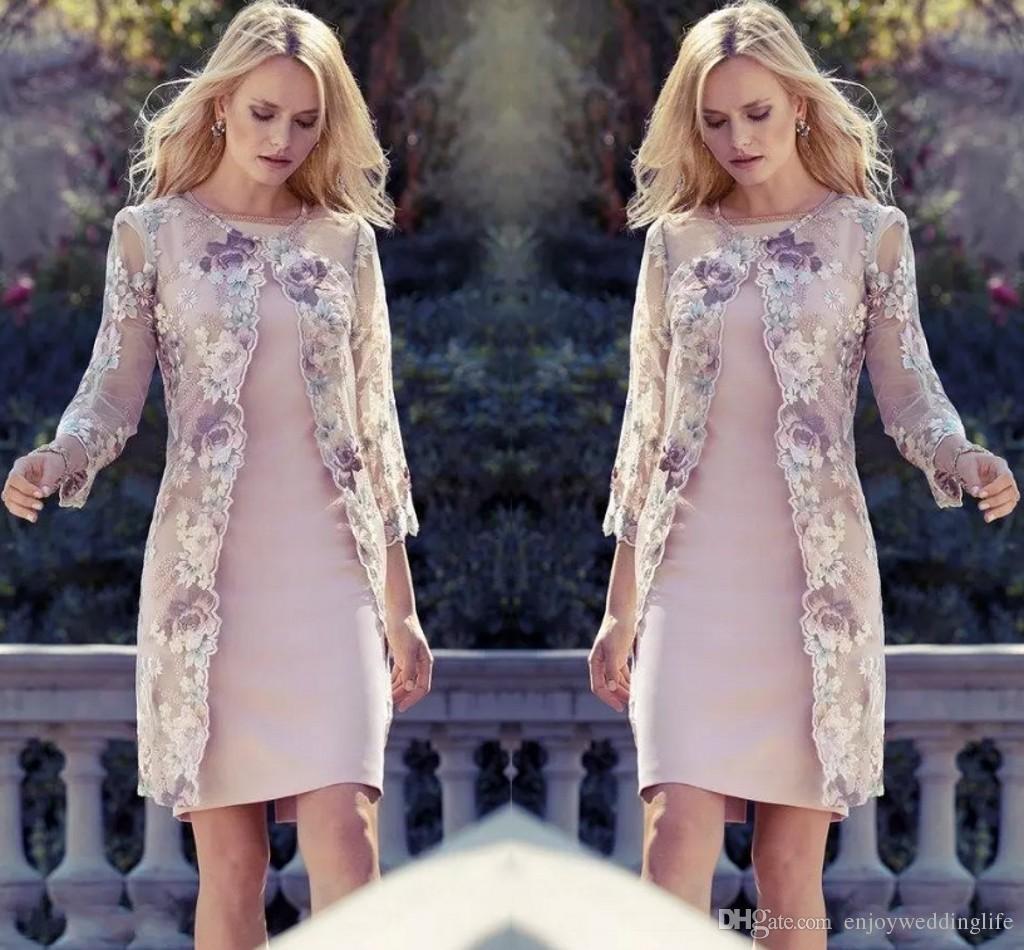 Großhandel 11 Elegante Knielangen Mutter Der Braut Kleider Mit
