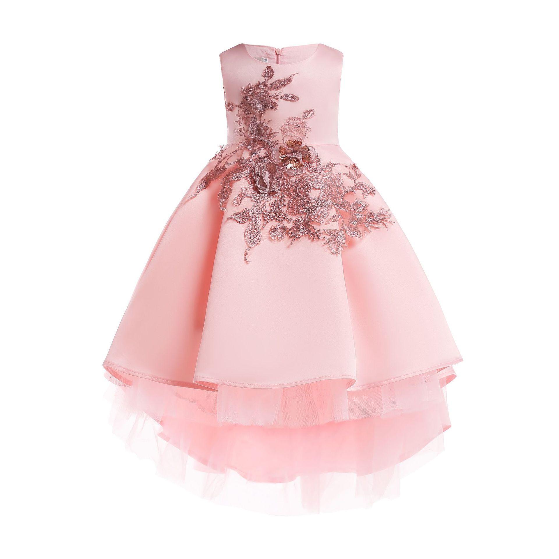 Großhandel Baby Mädchen Prinzessin Kleid Elegante Kinder Party Kleider Für  Kleinkind Mädchen Hochzeit Kleid Kinder Weihnachten Kleid Für Mädchen