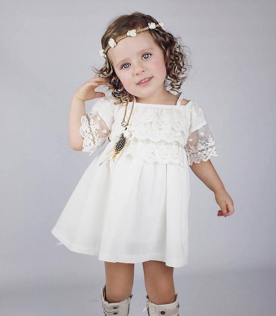 Großhandel Kinder Kleidung Mädchen Kleid Mit Vintage Floral Top