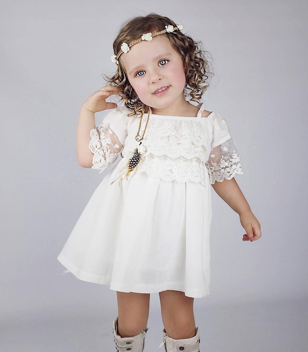 großhandel kinder kleidung mädchen kleid mit vintage