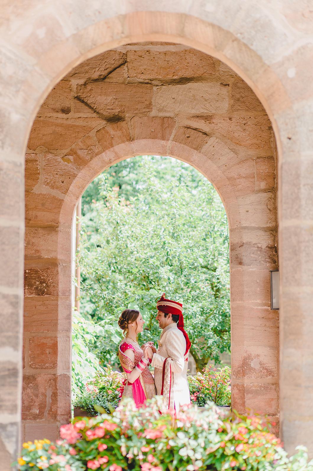 Gwächshaus Nürnberg - Indische Hochzeit Von Anna Eiswert