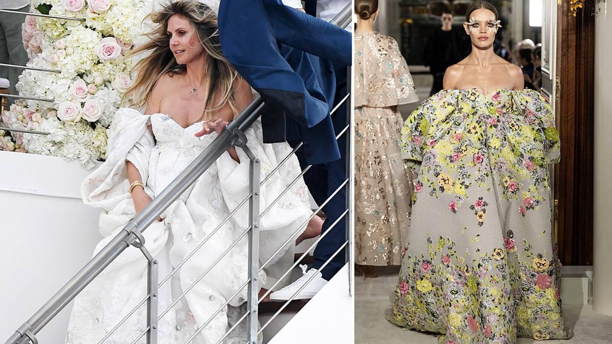 Heidi Klum: Diese Kleider Trug Sie Zur Trauung Mit Tom