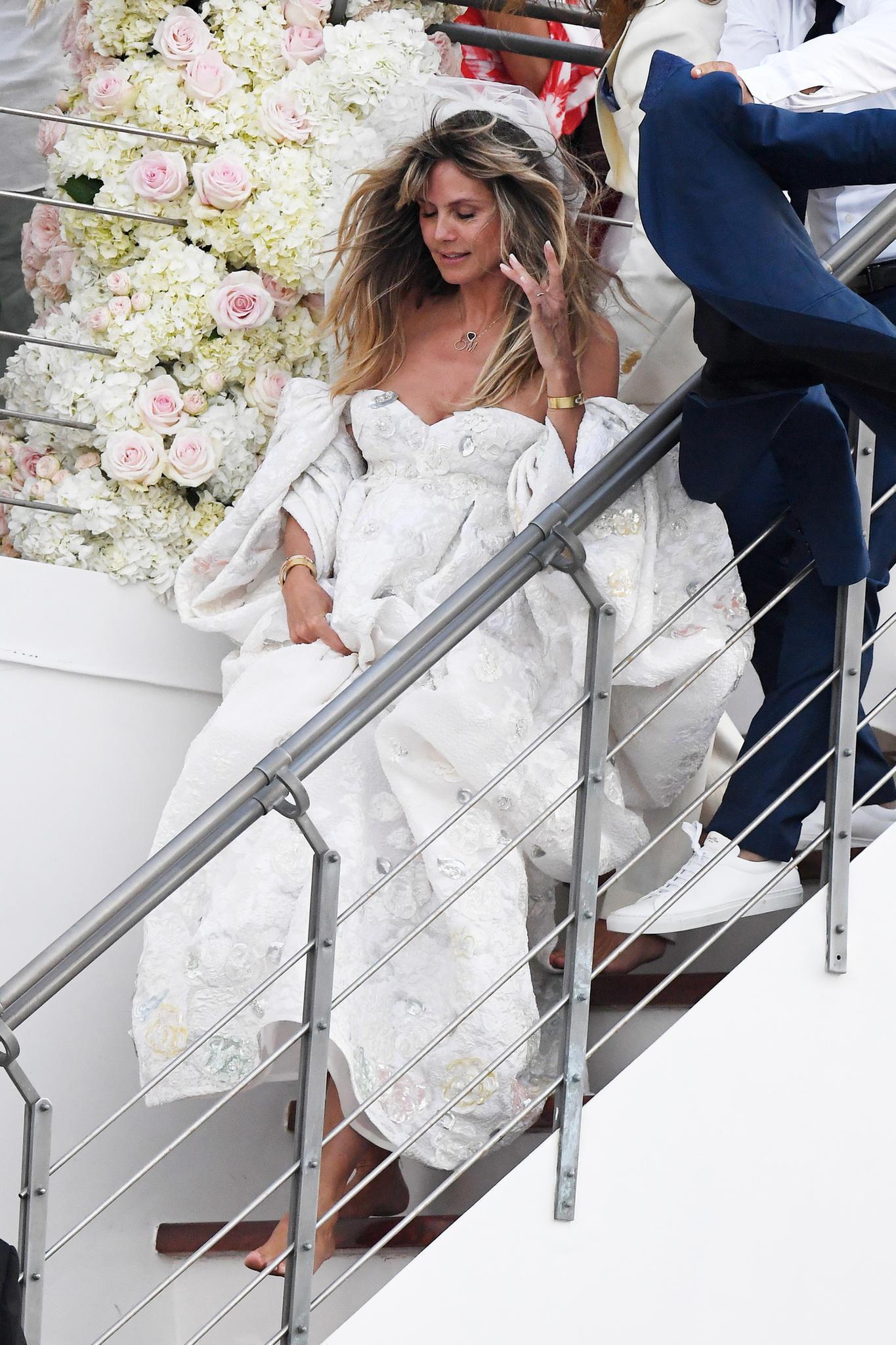 Heidi Klum: Ihr Brautkleid Ist Von Valentino   Gala.de