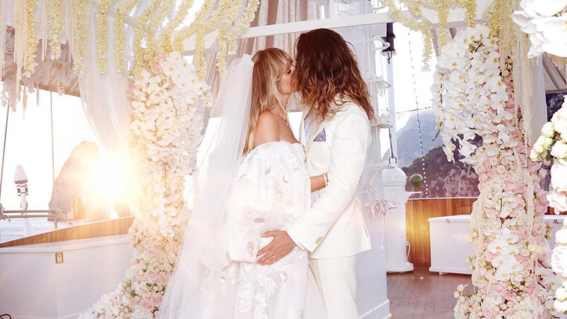 Heidi Klum Lüftet Brautkleid-Geheimnis - Und Überrascht Mit