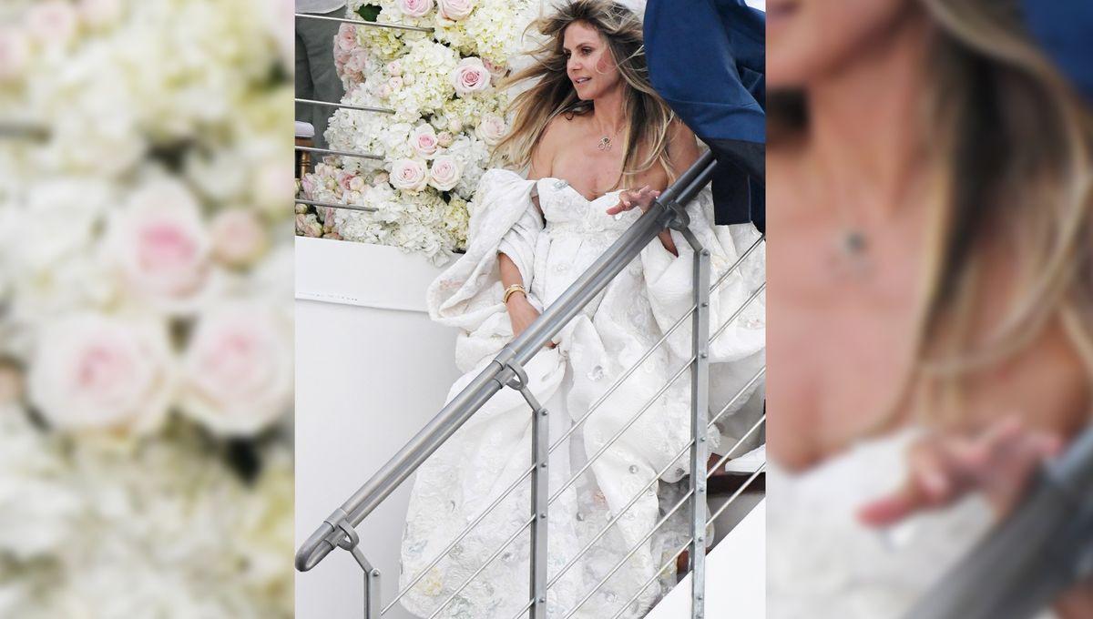 Heidi Klum - Neue Fotos Von Ihr Im Brautkleid: Und Diese Details Sehen Wir  Erst Jetzt