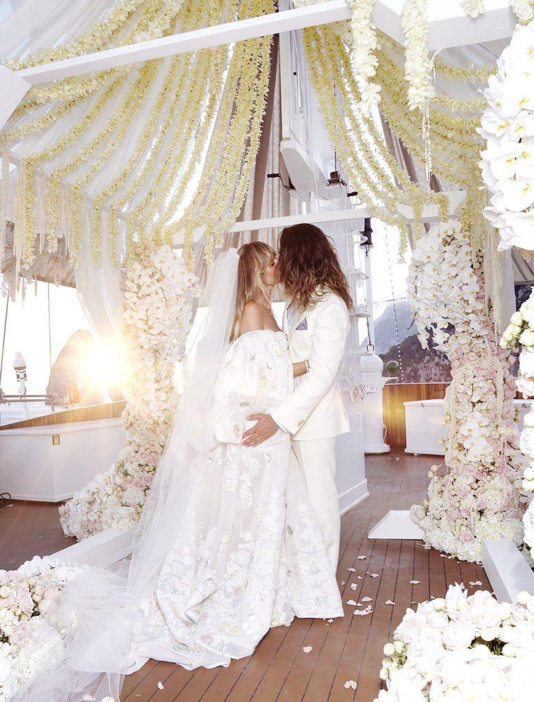 Heidi Klum On | Kleid Hochzeit, Hochzeitsfeier Ideen Und