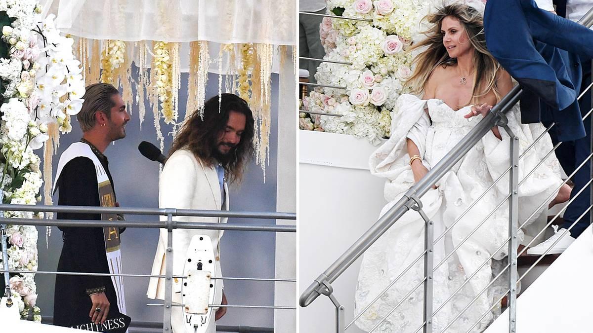 Heidi Klum Und Tom Kaulitz: So Haben Sie Geheiratet | Stern.de