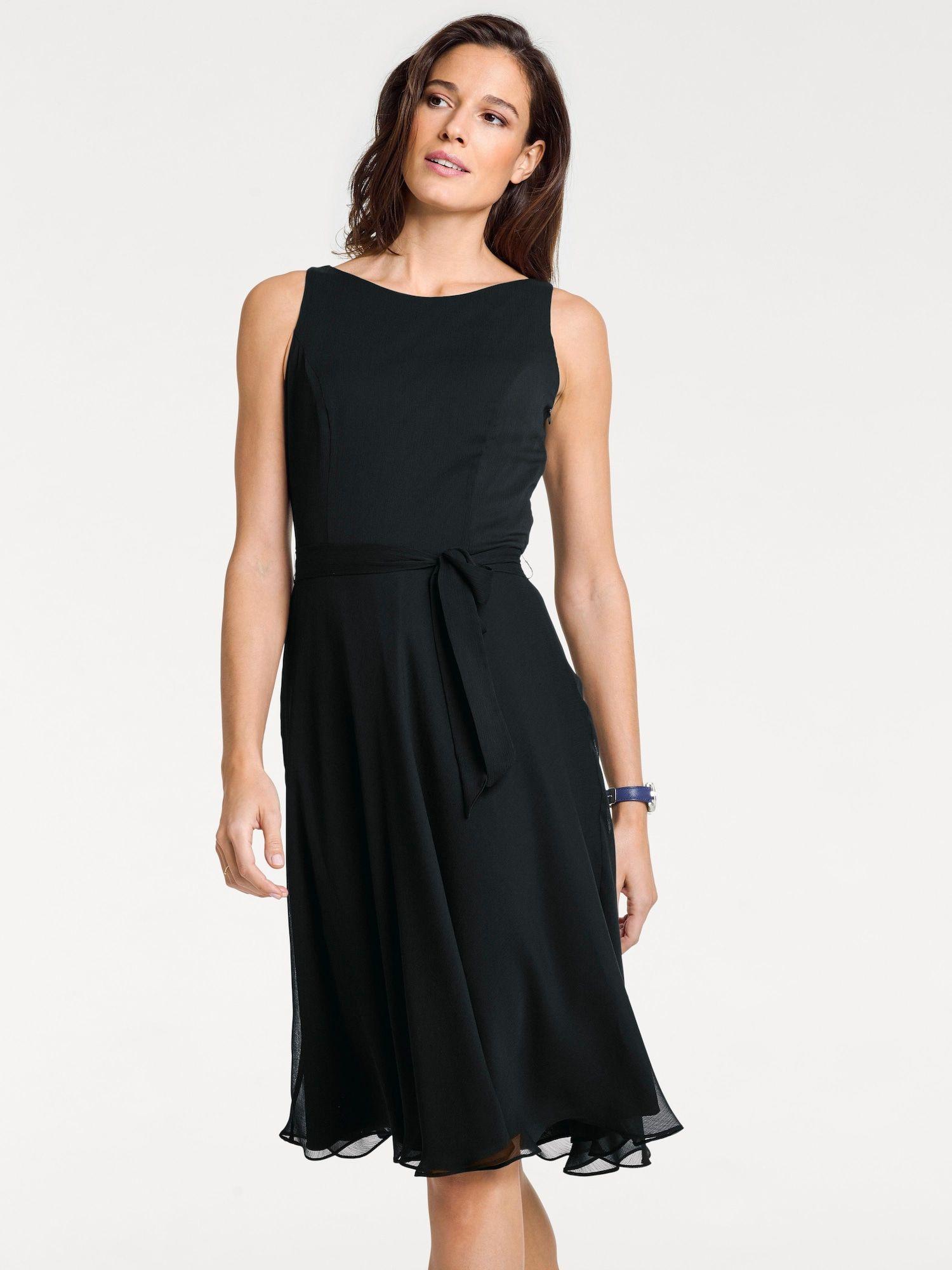 Heine Prinzesskleid Damen, Schwarz, Größe 42 | Kleider Mode