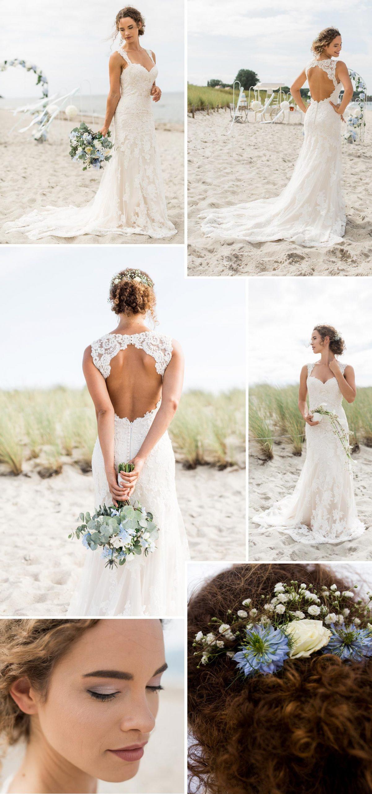 Heiraten An Der Ostsee | Strand Hochzeit Kleid, Heiraten Und
