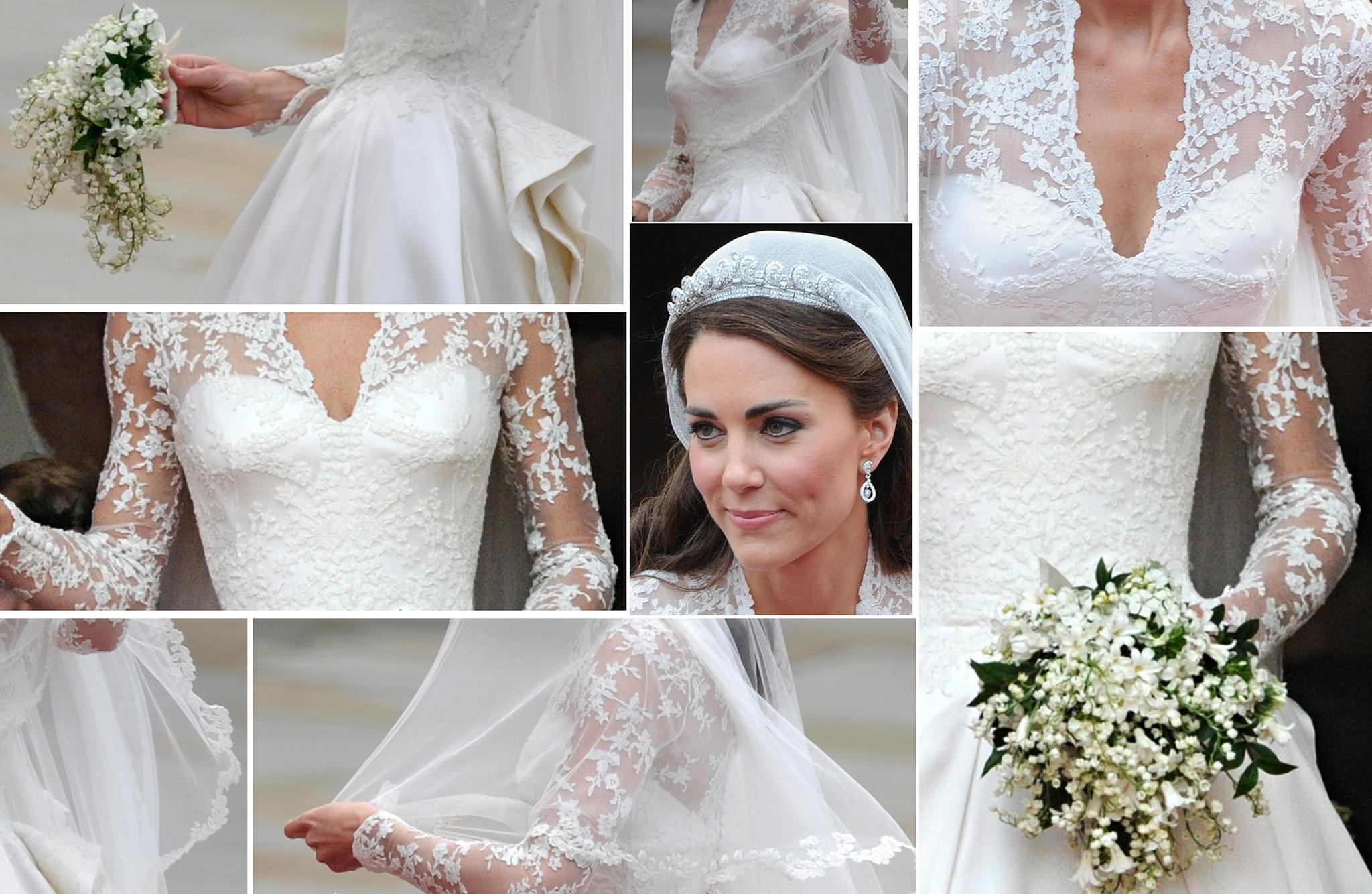 Herzogin Catherine: Ihr Brautkleid Wird Von H&m Kopiert