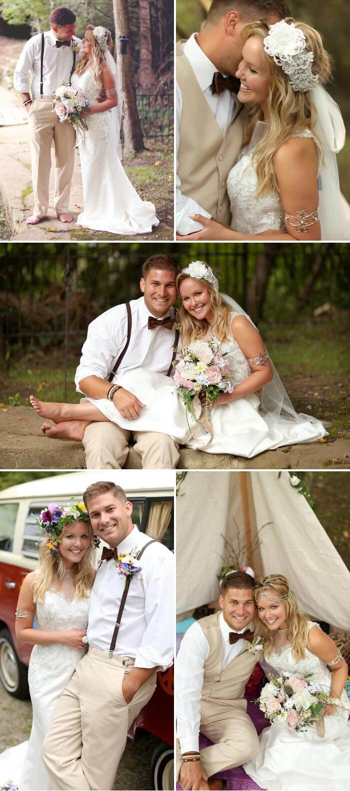 Hippie Hochzeit Feiern ✿ Die Besten Tipps, Ideen