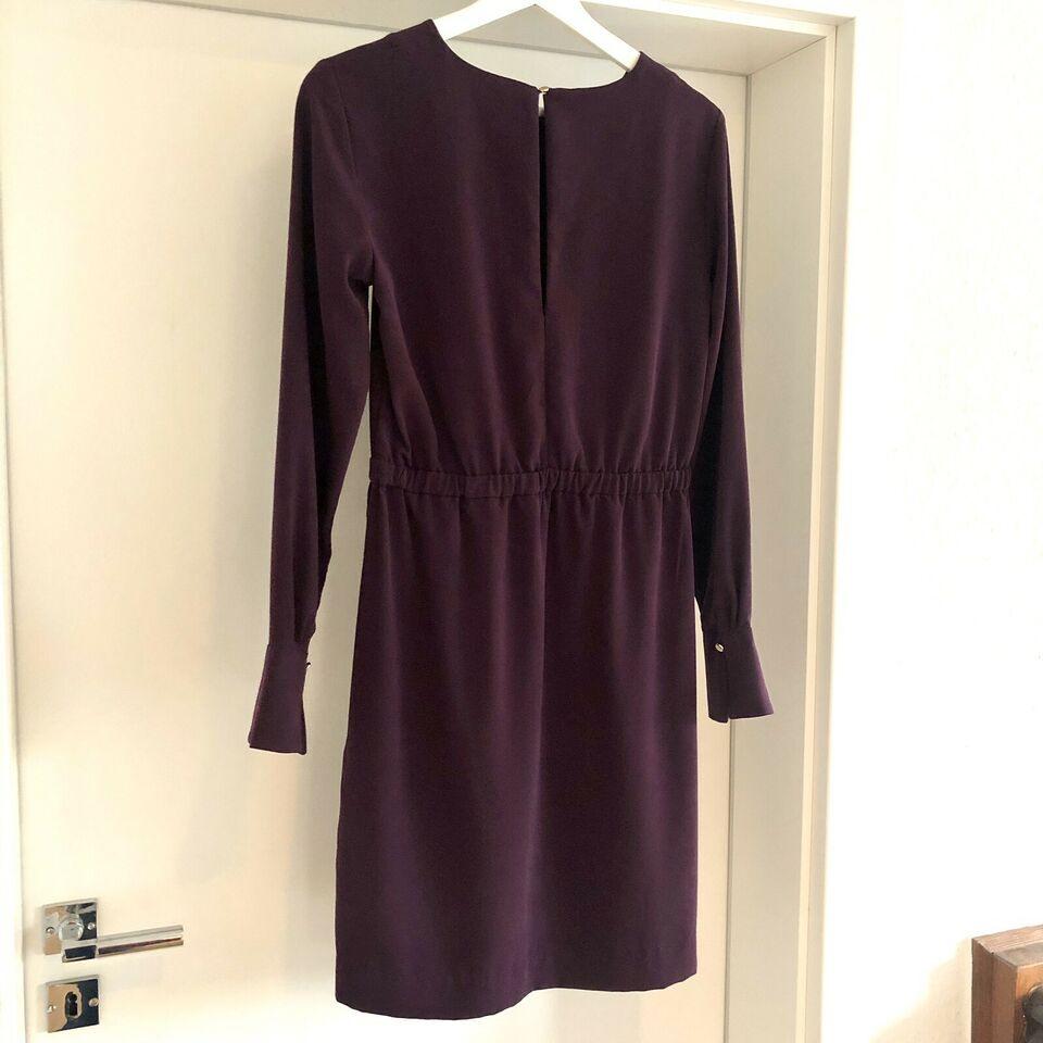 H&m Kleid 38 Lila Business Midikleid Festlich Schick Trend Insta
