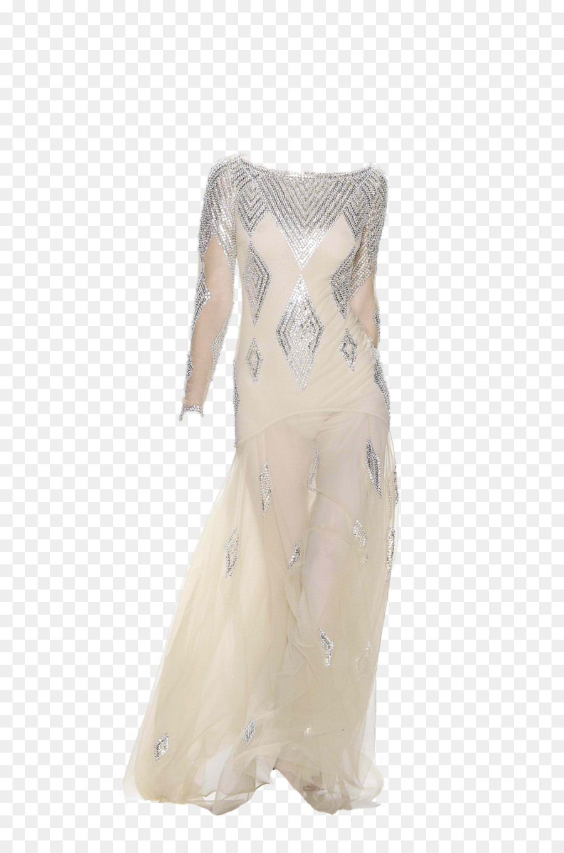 Hochzeit Abendkleid Cocktail Kleid Schulter - Kleid Png
