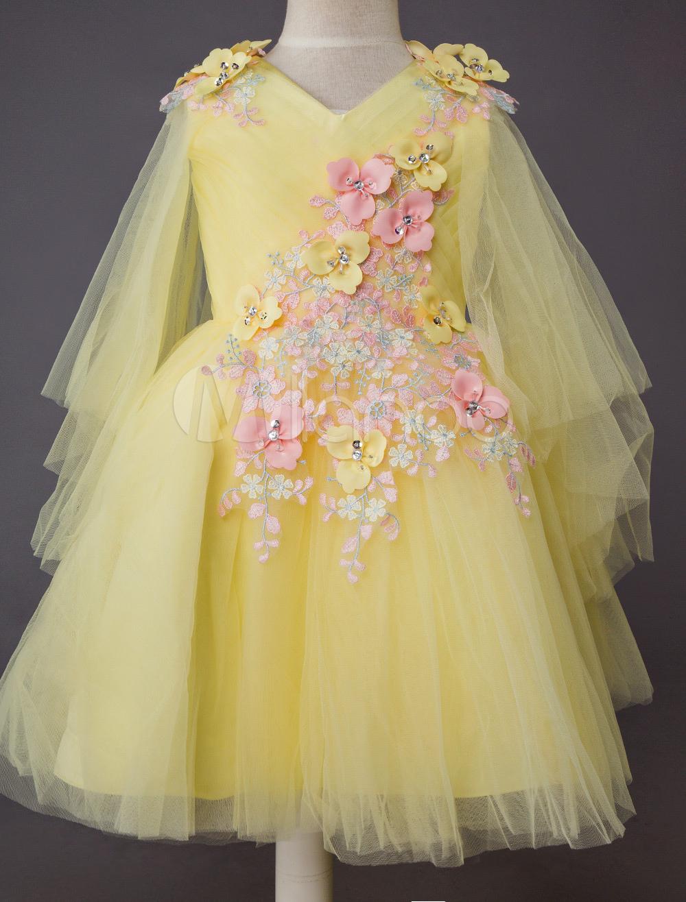 Hochzeit Blumenmädchen Kleid Kinder Formale Party Lace