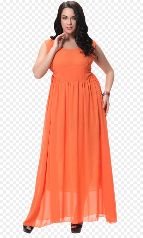 Hochzeit Kleid Kleid Kleidung Orange - Nachtclub Lichter Png