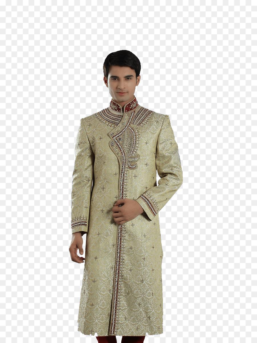 Hochzeit Kleid Kleidung Sherwani Mann - Kleid Png