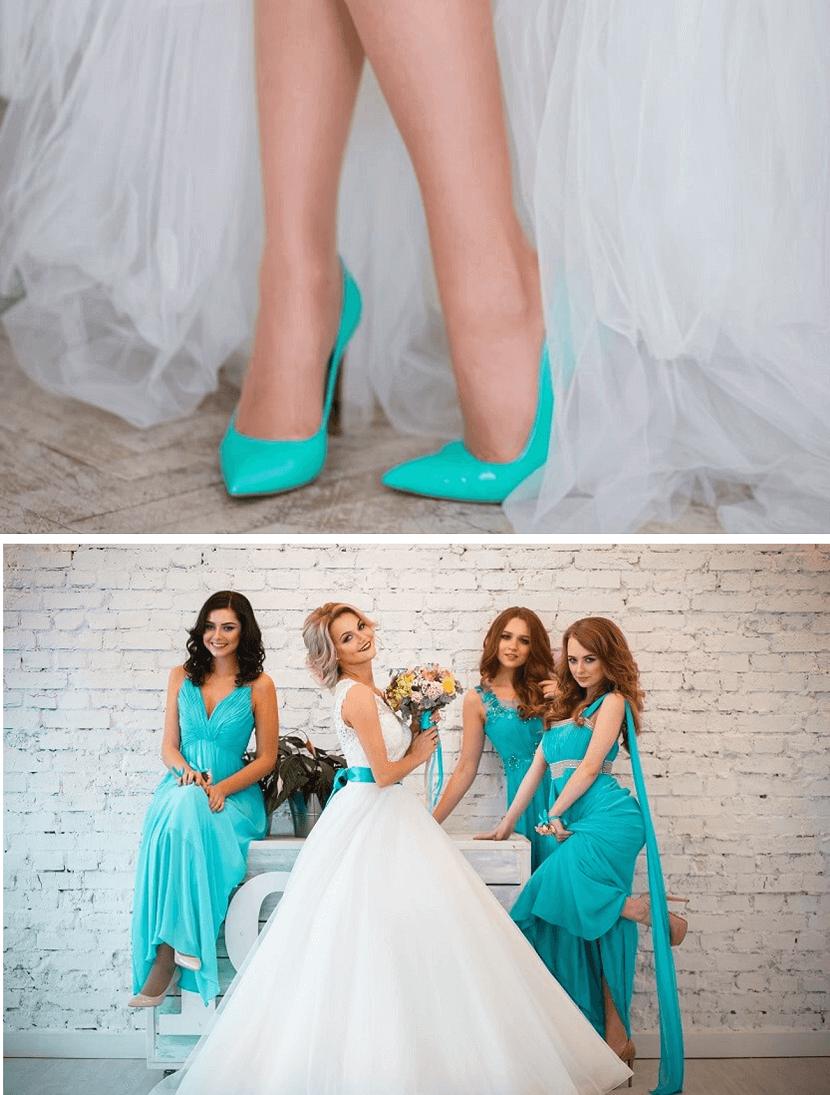Hochzeit Mit Farbigen Akzenten - Hochzeitskiste