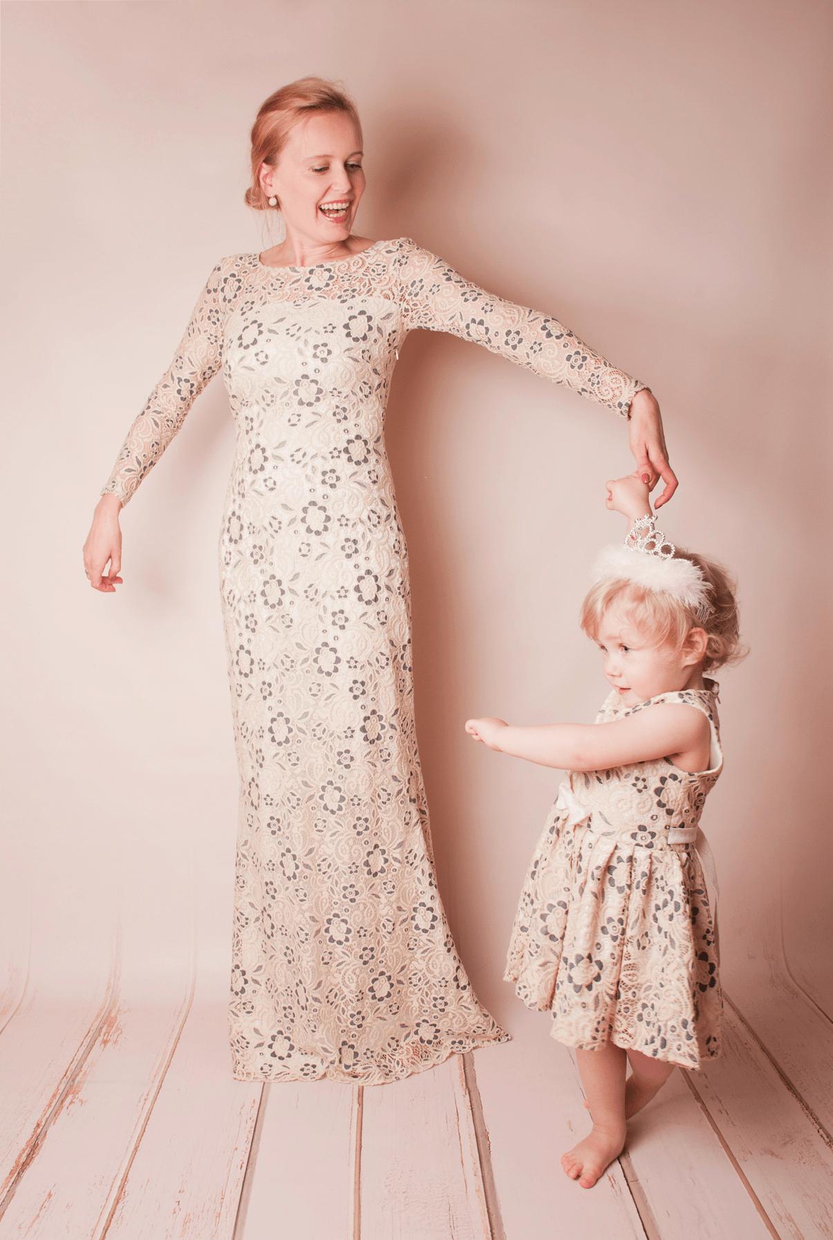 Hochzeit Mit Kind: Brautkleid Für Mama Und Tochter | Mutter