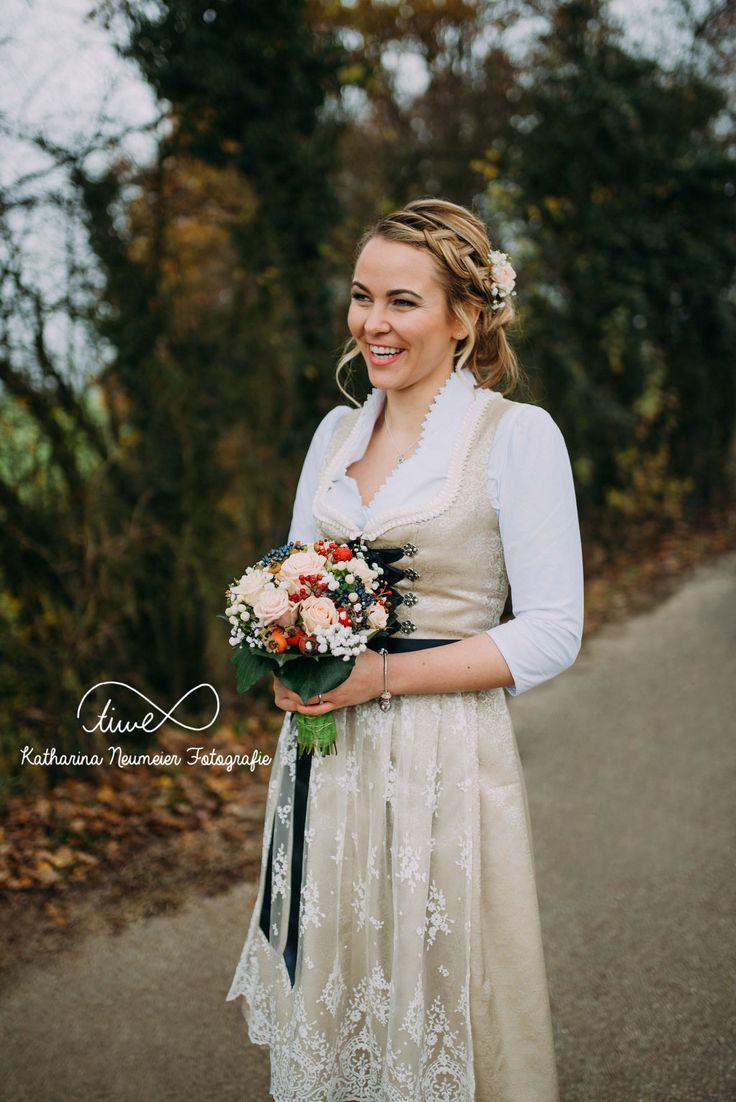Hochzeit - November - Tracht   Dirndl Hochzeit, Braut Dirndl