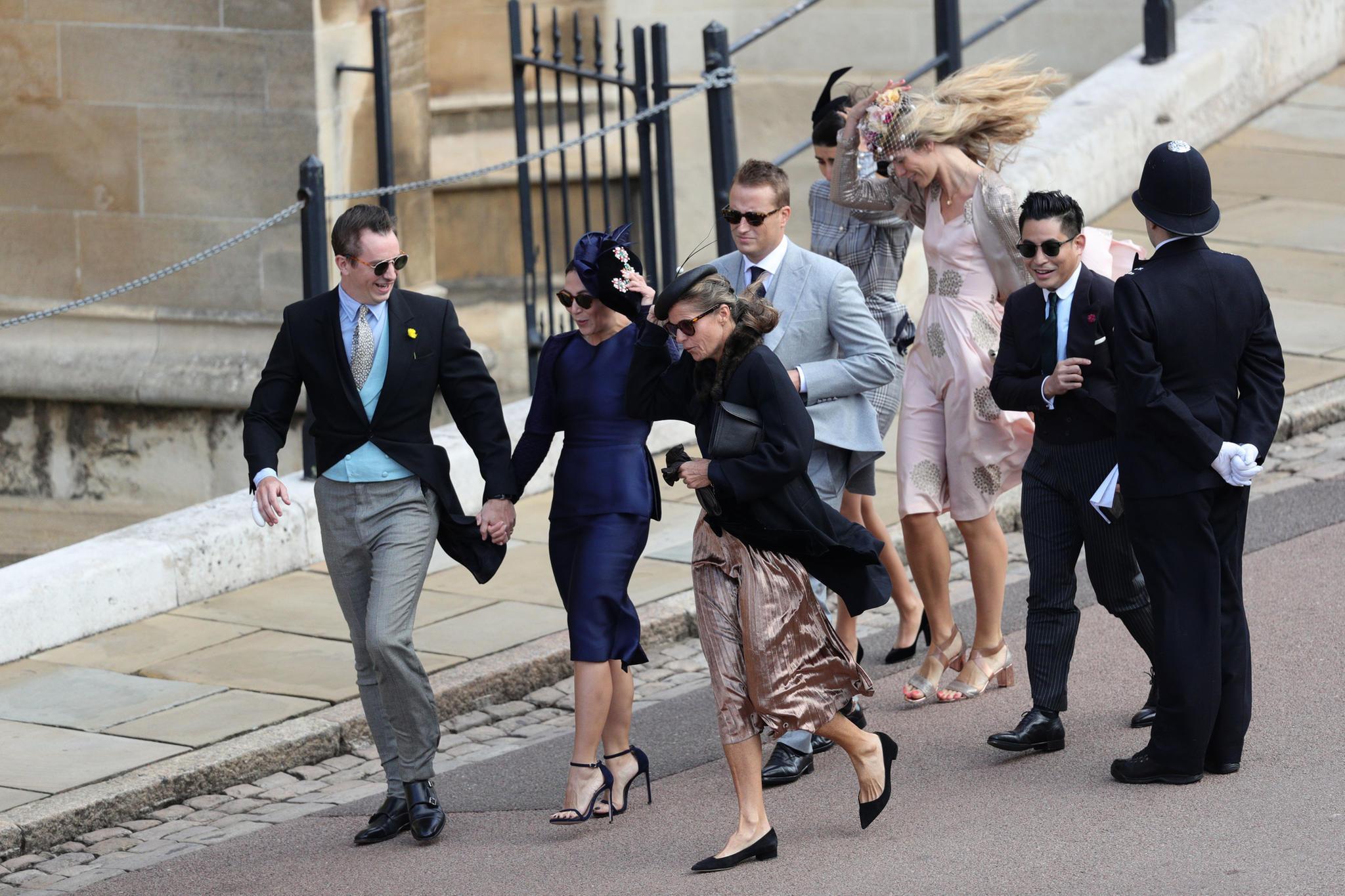 Hochzeit Prinzessin Eugenie + Jack Brooksbank: Vom Winde