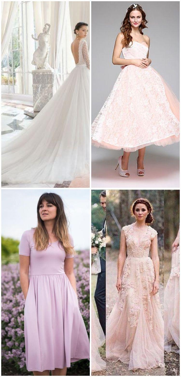 Hochzeit Spitzenkleid Brautjungfer Kleider, Eine Linie Lange