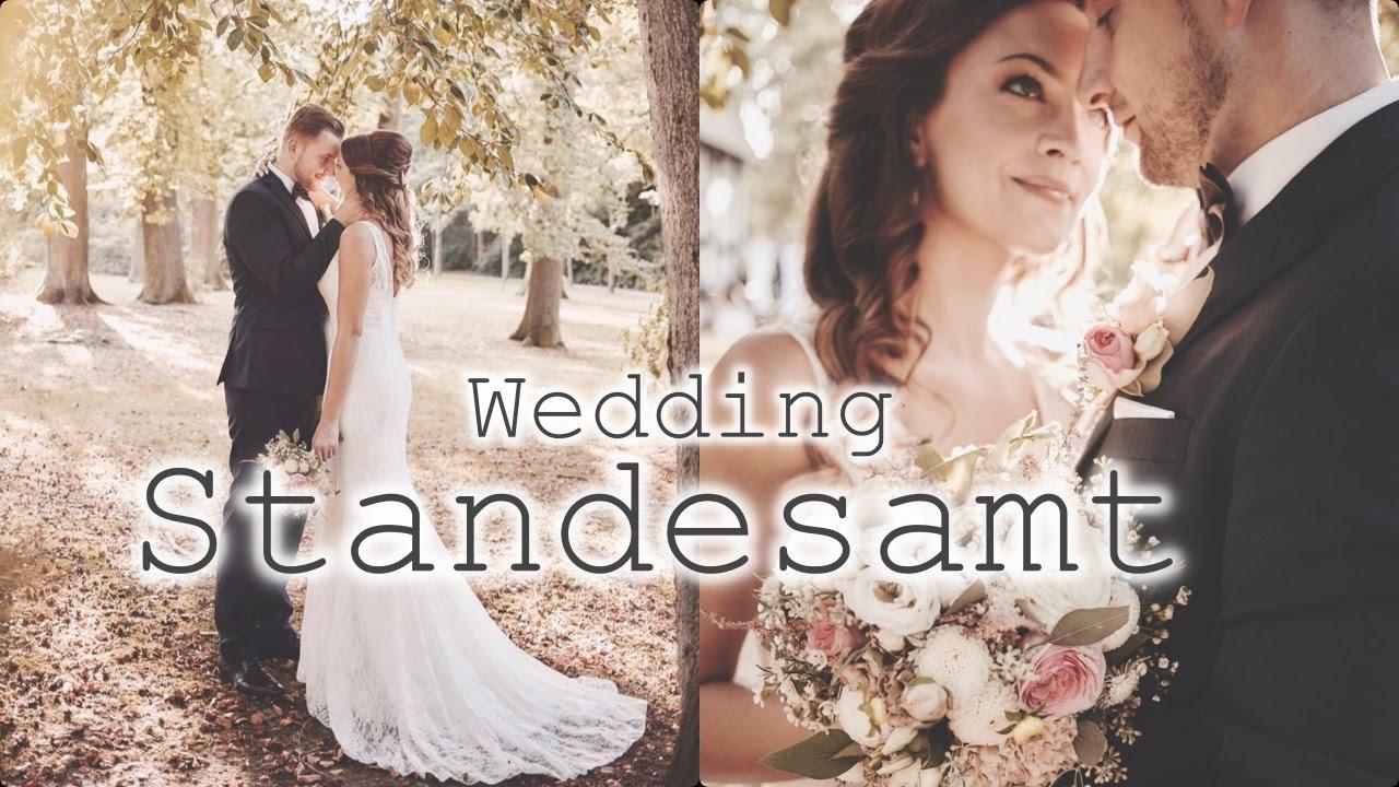 Hochzeit Standesamt | Fertigmachen | Kleid | Frisur