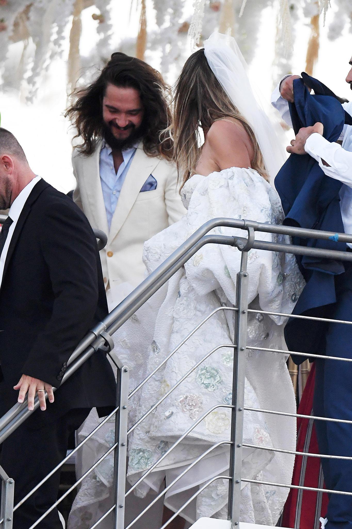 Hochzeit Von Heidi Klum: Verheiratet! Details Zum Jawort Mit