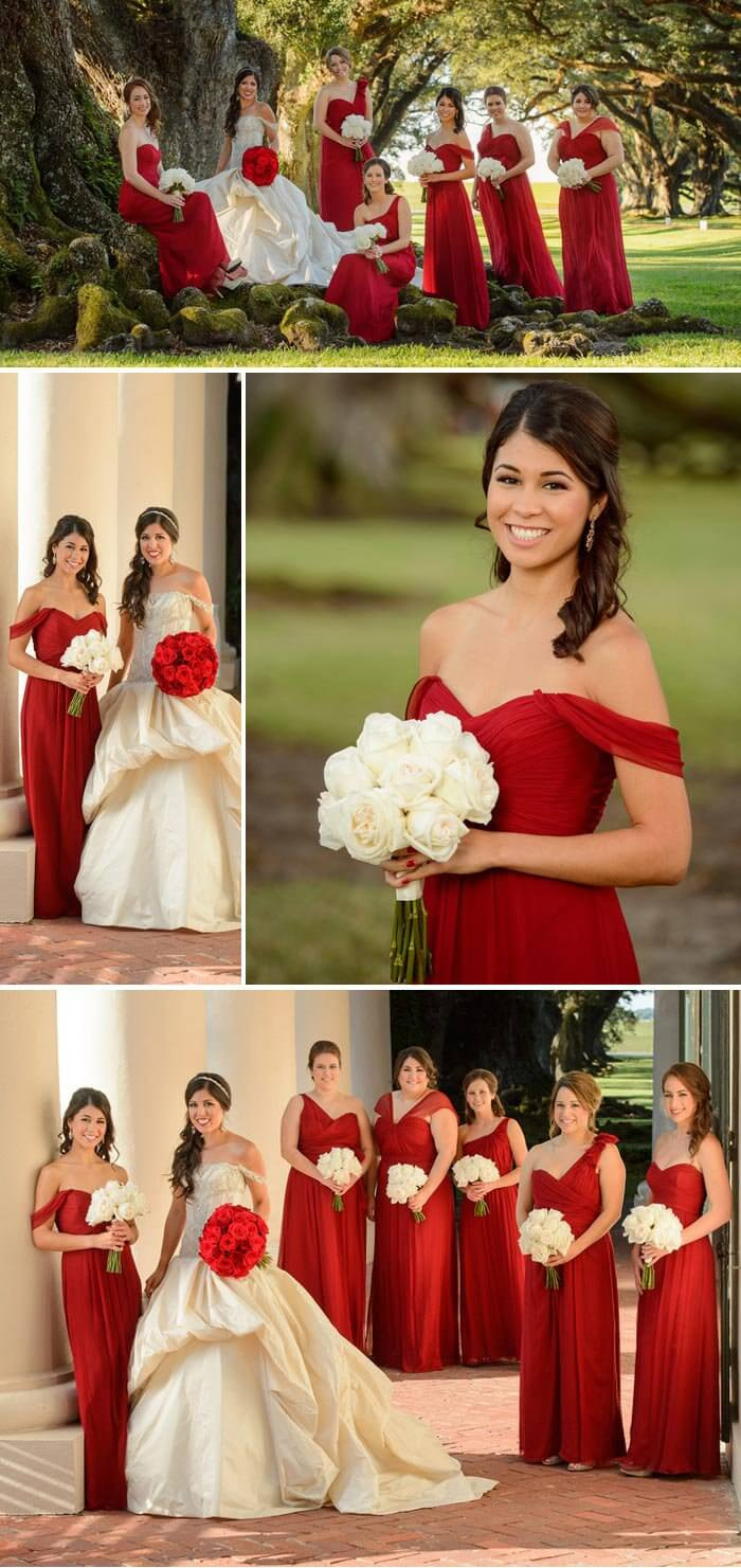 Hochzeitsdeko Rot Und Romantisch   Vielen Zauberhafte