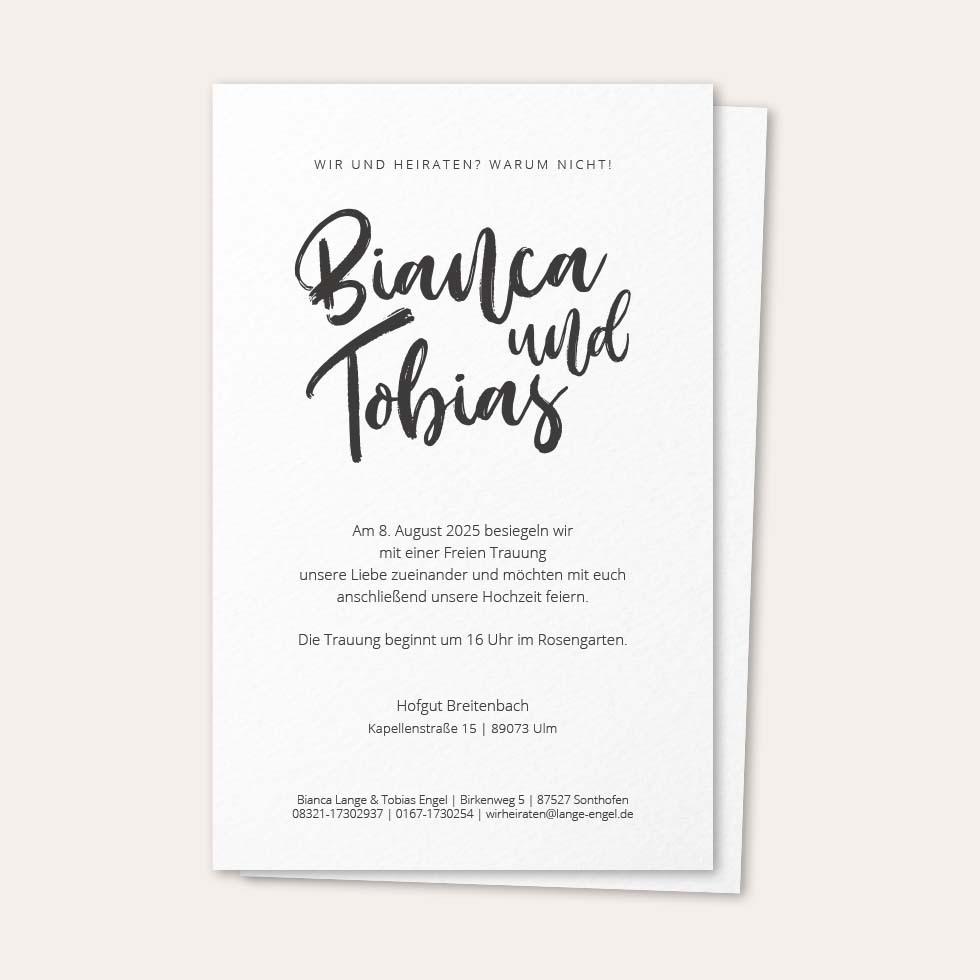 Hochzeitseinladung Text: 45 Richtig Schöne Mustertexte