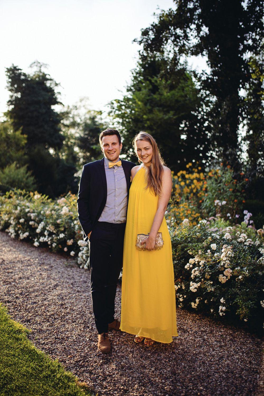 Hochzeitsgast In Gelb – Die Erste Hochzeit Nach Unserer