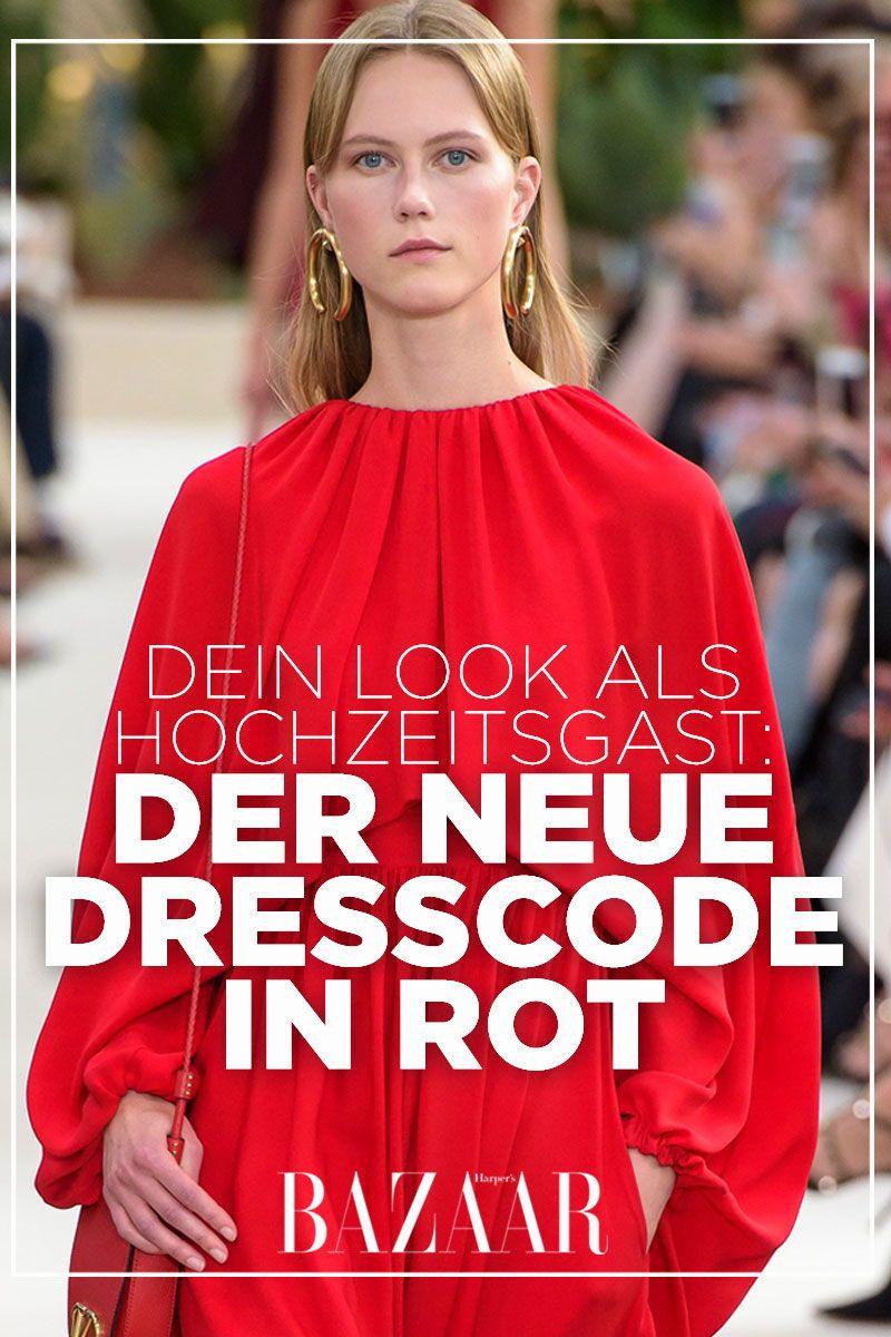 Hochzeitsgast: Ist Ein Rotes Kleid Auf Einer Hochzeit