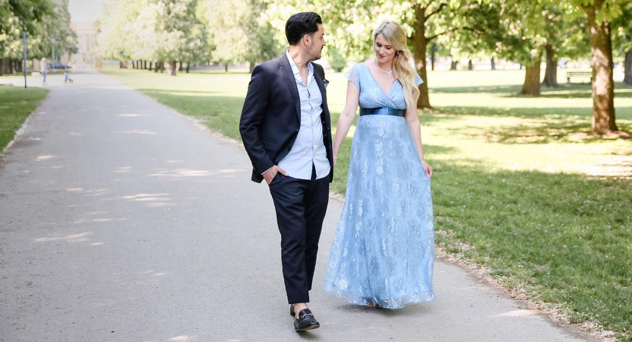 Hochzeitsgast Mit Babybauchdas Trägt Nathalie - Mamarella Diary