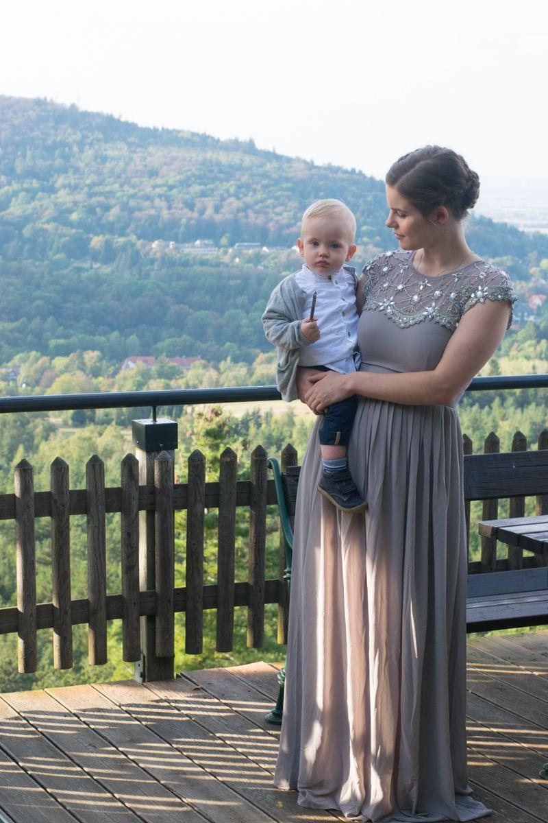 Hochzeitsgast Outfit Im Lila Tüllrock Und Maxikleid Von Asos