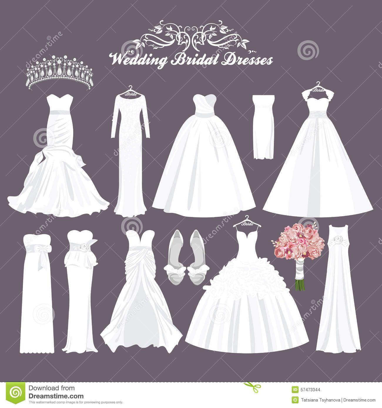 Hochzeitskleid Arten | Hochzeitskleid, Kleid Hochzeit Und