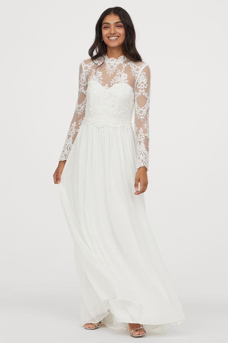 Hochzeitskleid Aus Spitze In 2020 | Wedding Dresses, Wedding