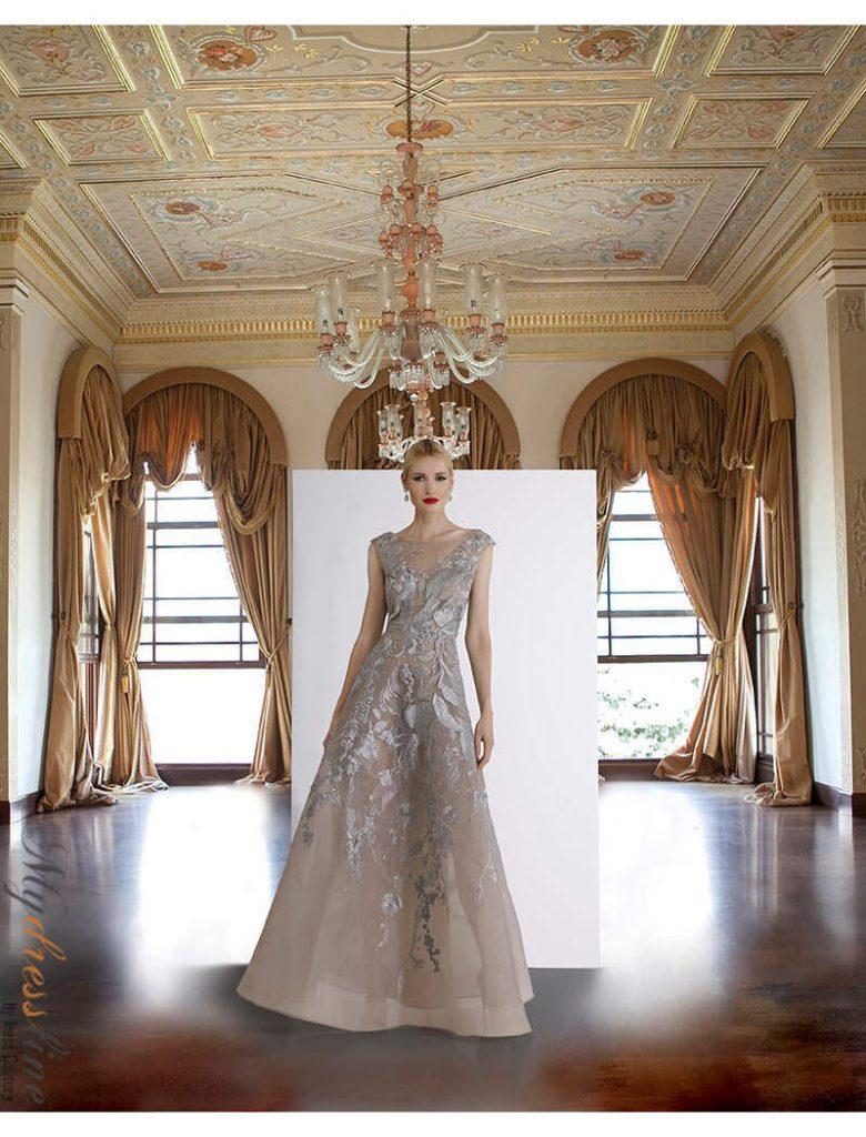 Hochzeitskleid Für Die Mutter Des Bräutigams Und Der Braut - Abendkleid
