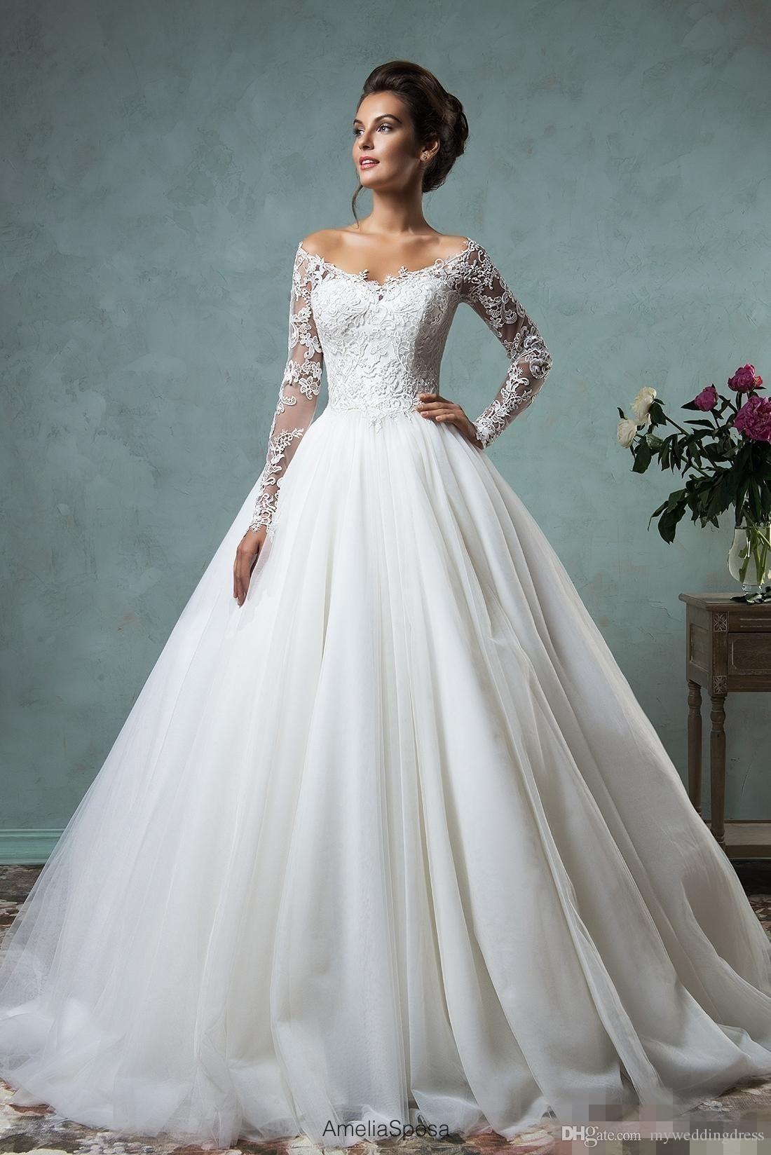 Hochzeitskleid Langarm | Свадебные Платья, Свадебные Наряды