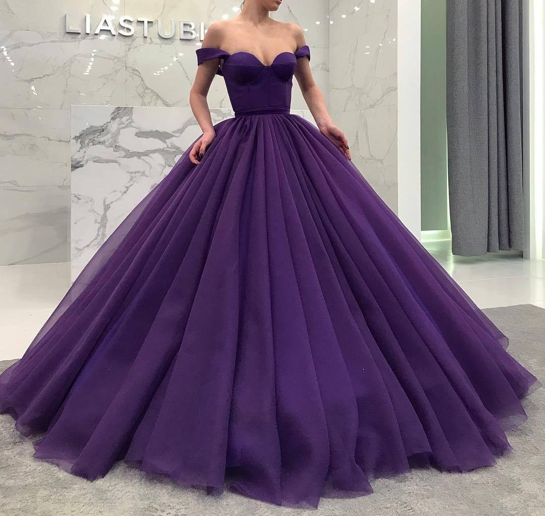 Hochzeitskleid Lila | Hochzeitskleid, Ballkleid Und Kleider