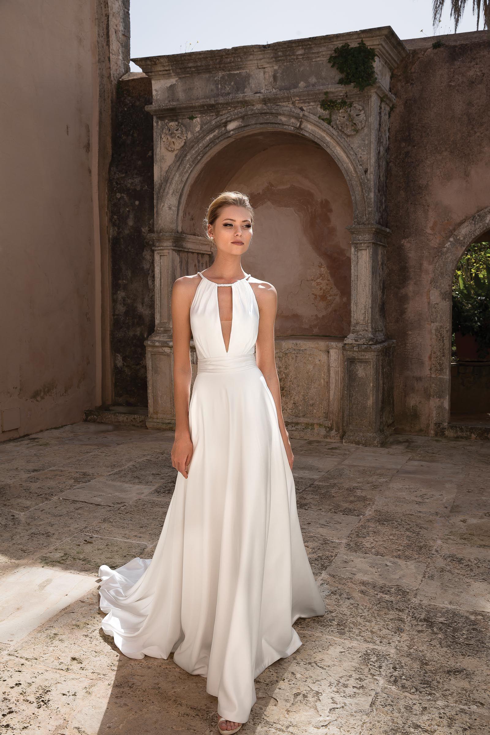 Hochzeit Kleid Neckholder - Abendkleid